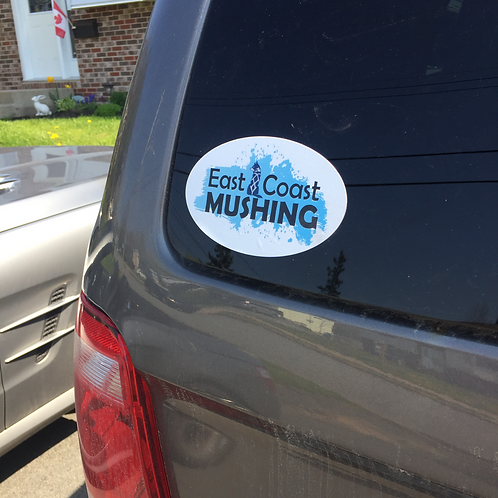East Coast Mushing Bumper Stickers