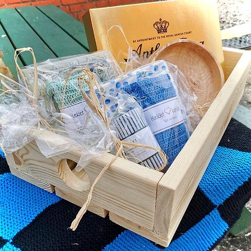 Fin kasse f.eks. til værtindegave