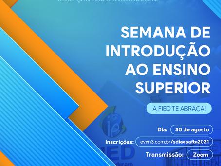 FIED/UNINTA promove semana de acolhida aos calouros 2021.2