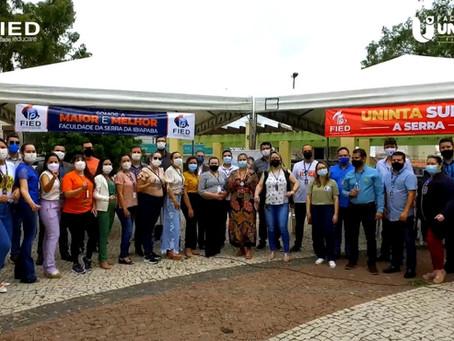 Responsabilidade Social: Cursos de Graduação da FIED realizam ações na Praça dos Eucaliptos