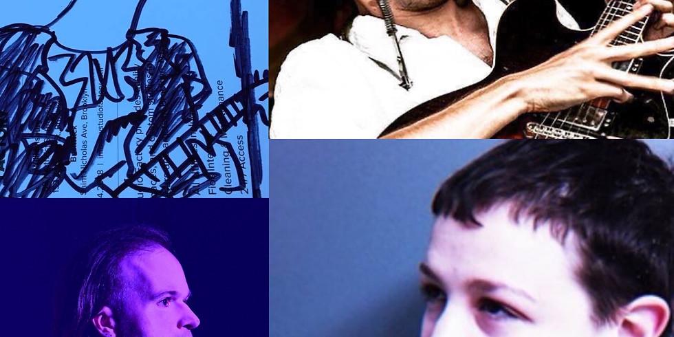 SLAMJUNK Presents: Joanna Sternberg | Grey McMurray | Jamie Frey | Simple Blues Boy, Noé Socha (AKA Blind Selfie)