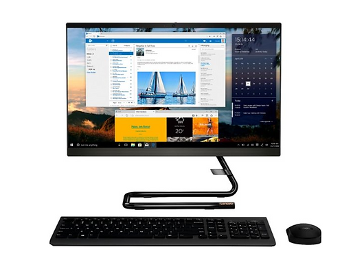 "Lenovo - IdeaCentre A340-22IGM 21.5"" Touch-Screen All-In-One"