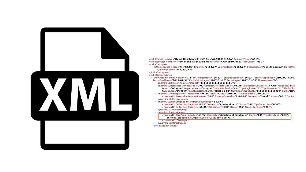 XML incapacidad