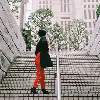 Girl in the red pants ❌_-_-_-_-_-_#FilmN