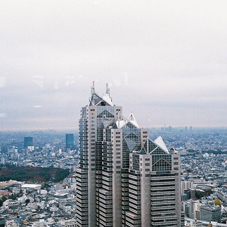 Stunning views over the city of Tokyo_-_