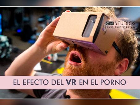 El poderoso efecto del VR en el porno
