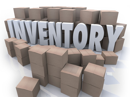 Inventory Control: Dust off the bottle