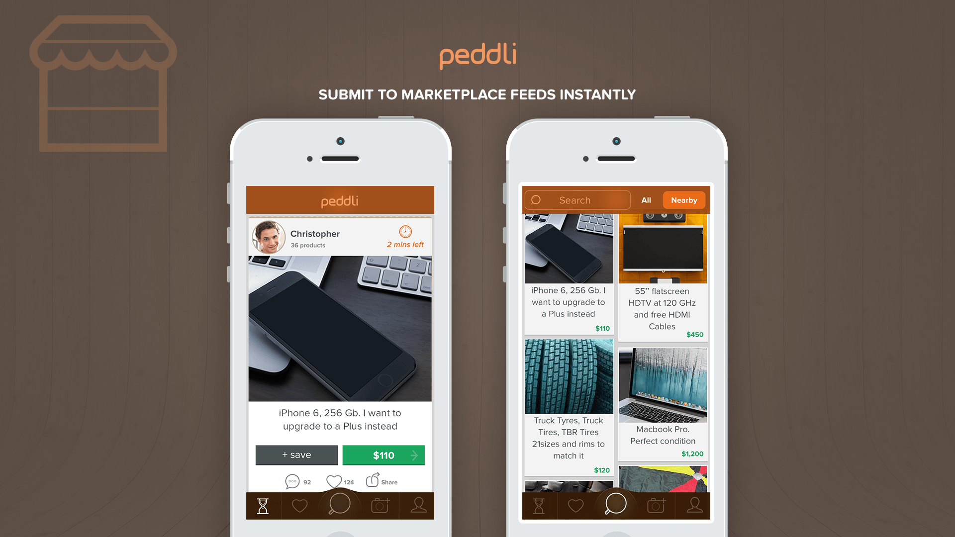 Peddli - browse products