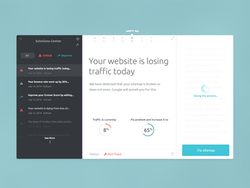 Email/Notifications Web App