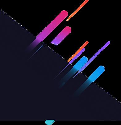 gradient image top right