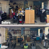 Garage Before/After