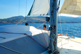 Bateaux Saint Cyprien promenade en mer avec le catamaran Lodos