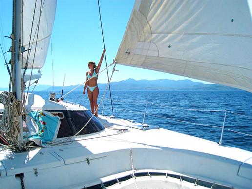 Catamaran croisière EVJF