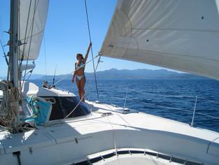 Bateaux Saint Cyprien sortie en mer promenade en catamaran différemment