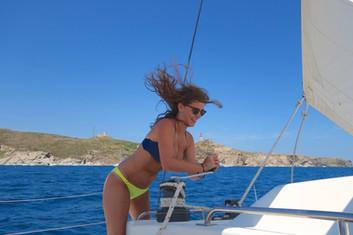 vivre la différence à bord du catamaran lodos