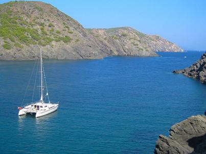 La côte rocheuse Catalane