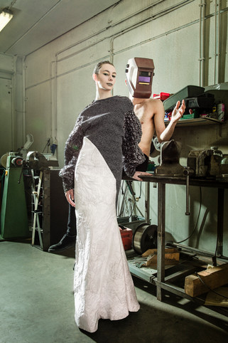 Models: Arielle and Axel @Flagmodels   Photographer: Mael G. Lagadec MUA: Melissa Szewc
