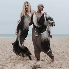 Styling: Lilly Vu  Photographer: Mael G. Lagadec MUA: Ilona Arena Models: Vinchi Nsimba at GN Models and Emily-Jane Degives