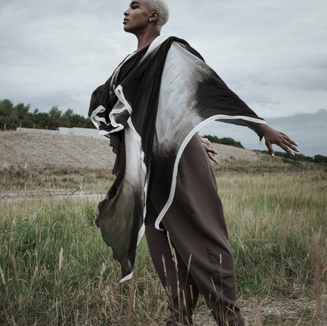 Styling: Lilly Vu  Photographer: Mael G. Lagadec MUA: Ilona Arena Models: Vinchi Nsimba at GN Models