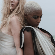 Styling: Lilly Vu  Photographer: Mael G. Lagadec MUA: Ilona Arena Models: Vinchi Nsimba at GN Models and Emily-Jane Degives