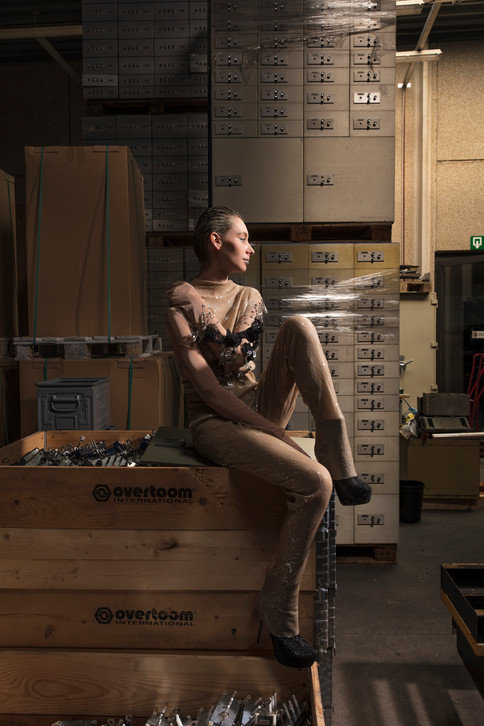 Model: Arielle @Flagmodels  Photographer: Mael G. Lagadec MUA: Melissa Szewc