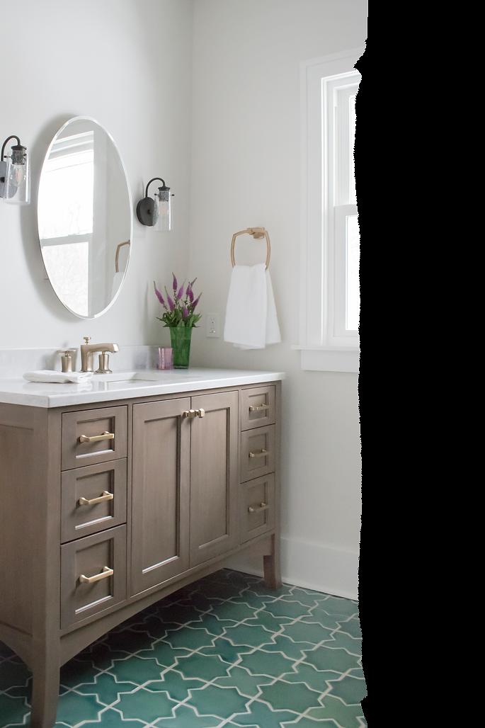 Shiloh Cabinetry, Fireclay Tile, Kohler Margaux