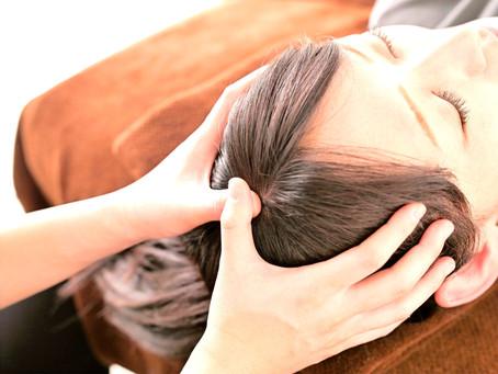 ストレス発散に頭の整体