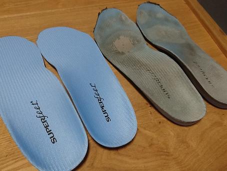 安全靴にスーパーフィート!