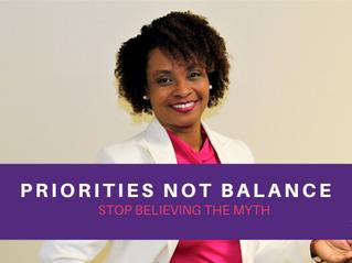 Priorities NOT Balance