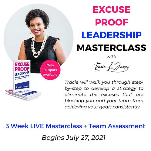 Excuse Proof Leadership Masterclass