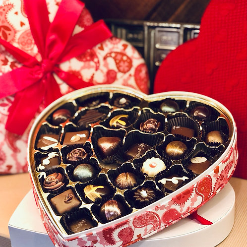 Valentine's truffles (The BIG box)!- 27 pieces