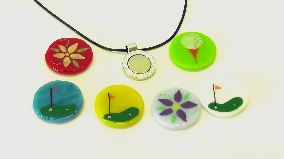 Golfmarkör - Halsband