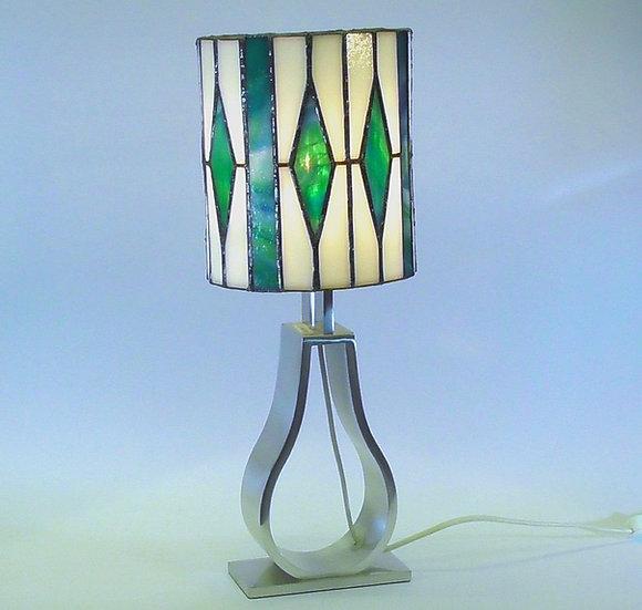 Bordslampa i Tiffanystil