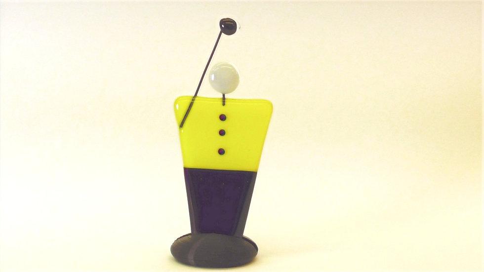 Golfspelare - figur/skulptur
