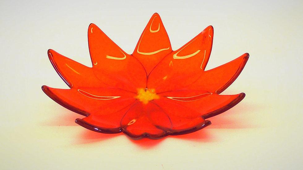 """Fat """"Härlig blomma i orange"""""""