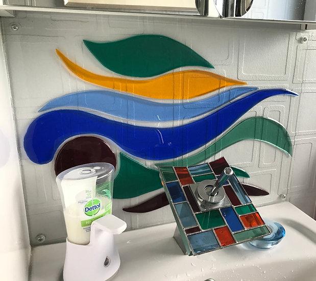 Backsplash till badrum/vask