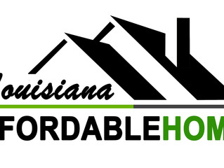 The New Louisiana Affordable Homes is Underway
