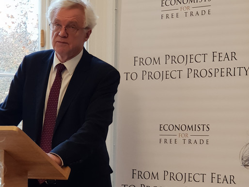 """Forecasts aren't facts, just predictions and political projections"" David Davis says."