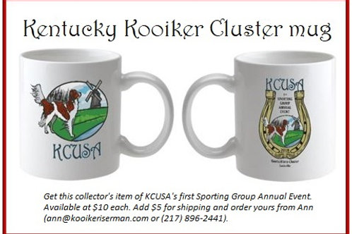 Mug from First KCUSA AKC Annual in 2018