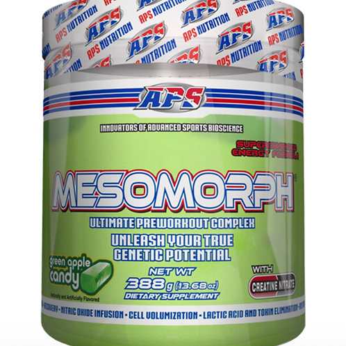 Mesomorph Green Apple | TNU FITNESS