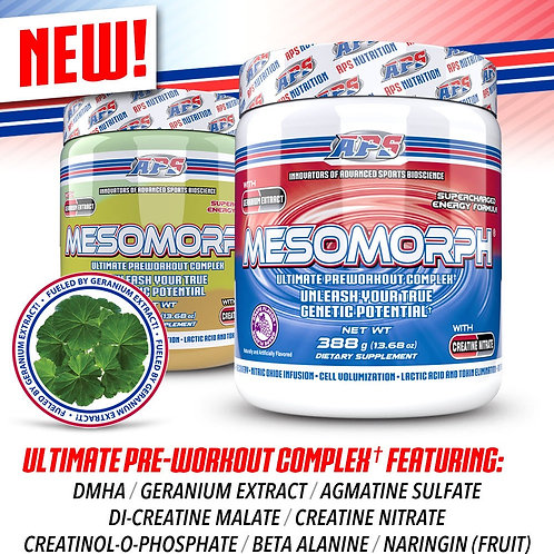 MESOMORPH (NEWELY IMPROVED)