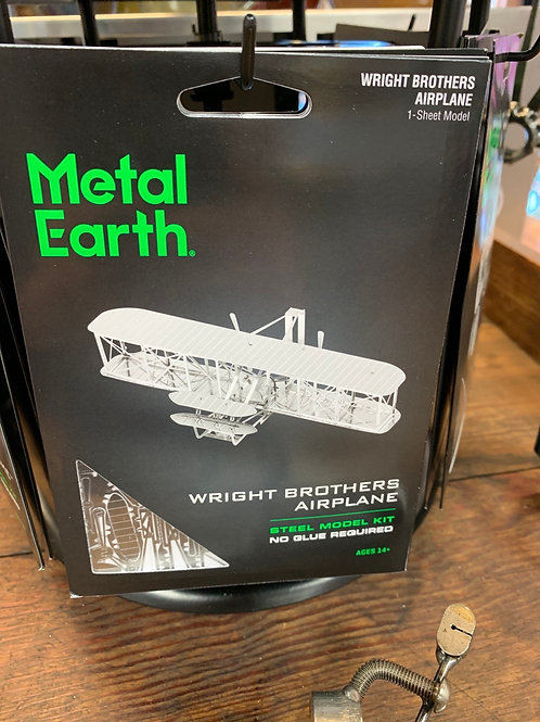 Wright Brothers Plane - Metal Earth