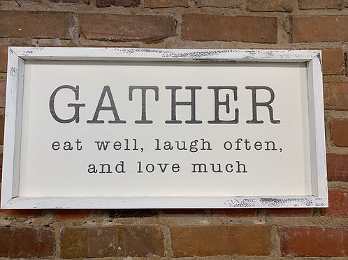 Gather eat well