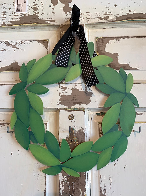 Wreath magnet holder