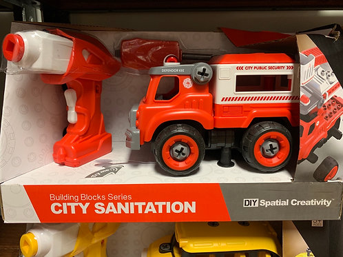 City Fire Tool Truck RC