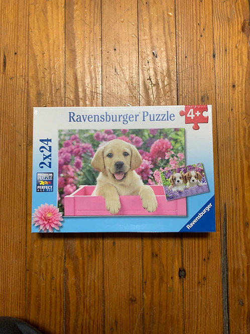 2x24 Puppies puzzle