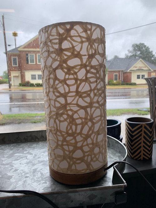 Eangee paper cylinder lamp