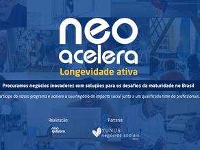 Neo Química abre inscrições para programa de aceleração de negócios sociais
