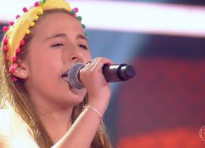 Sophia Marie se prepara para voltar à competição do 'The Voice Kids'