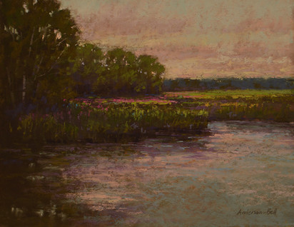 Calm Marsh Water